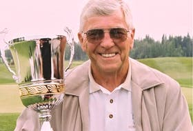 Calgary's Bob Wylie was inducted to the Canadian Golf Hall of Fame in 1995.
