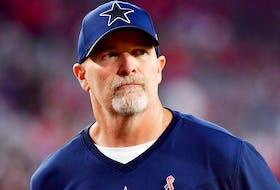 Dallas Cowboys defensive coordinator Dan Quinn.
