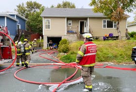 There were no injuries and the home owner's cat escaped unharmed from a house fire on Belfast Street in St. John's on Sept. 27, 2021.