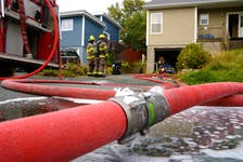 A home on Belfast Street in St. John's suffered extensive damage during an afternoon house fire.