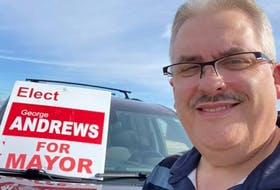 George Andrews was elected the new mayor of Happy Valley-Goose Bay on Tuesday, Sept. 28, 2021.