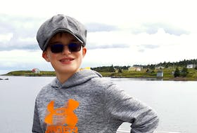Harland Fraser was nine when he was diagnosed with brain cancer. Doctors found a tumour the size of a walnut in the New Waterford, N.S. boy's brain.