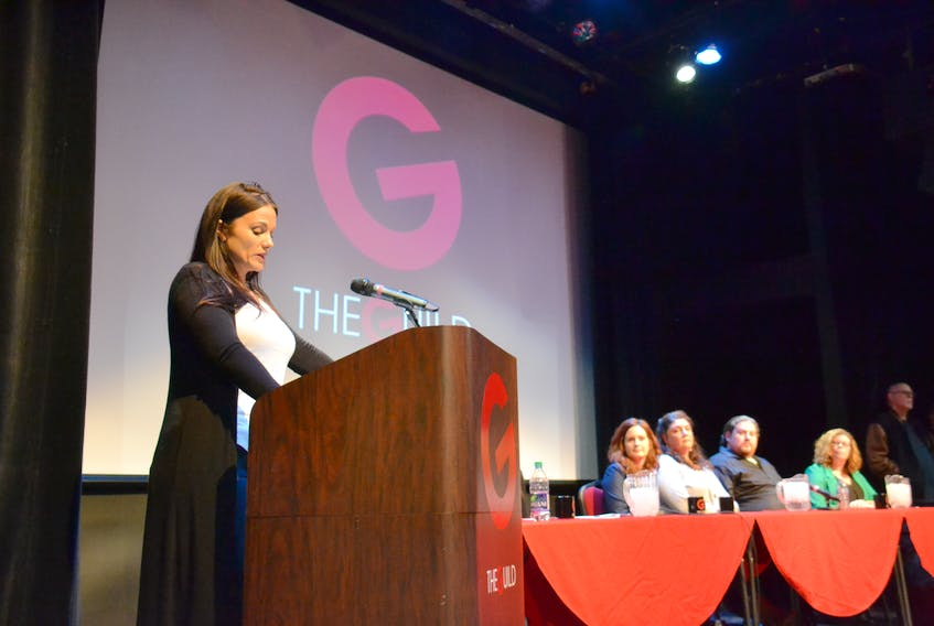 Ellen Taylor became a prominent mental health advocate after organizing a forum at The Guild in early 2020 that highlighted the direct experiences of individuals living with addiction.