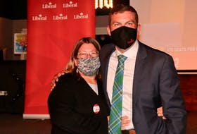 Kody Blois thanked his family and friends — especially his mom, Shelley Blois, who served as a scrutineer during the latest federal election — for all the support over the last two years.