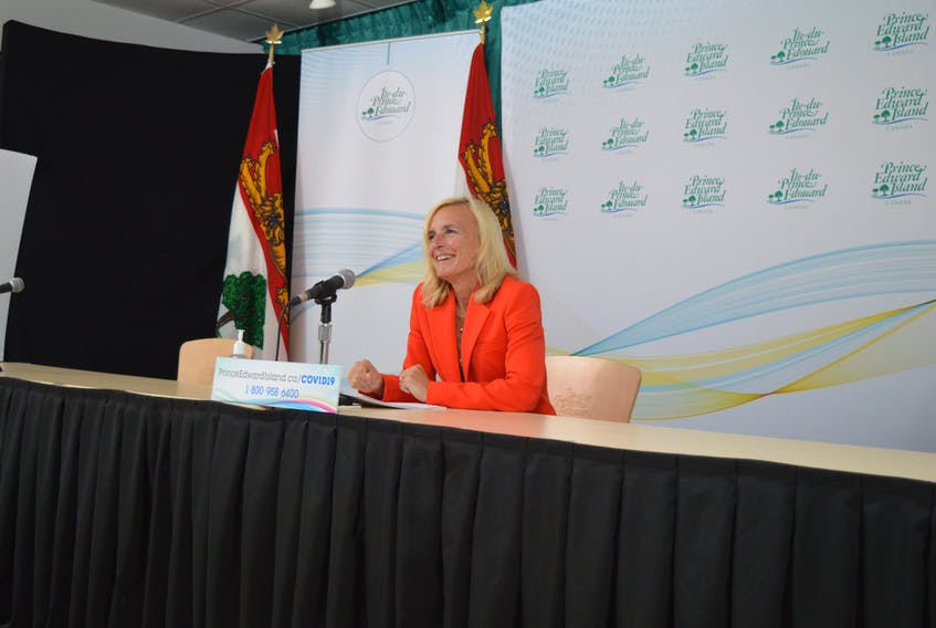 At a COVID-19 briefing on Sept. 28, Dr. Heather Morrison, P.E.I.'s chief public health officer, announced that there will be enhanced screening measures for everyone entering the province, regardless of vaccine status.
