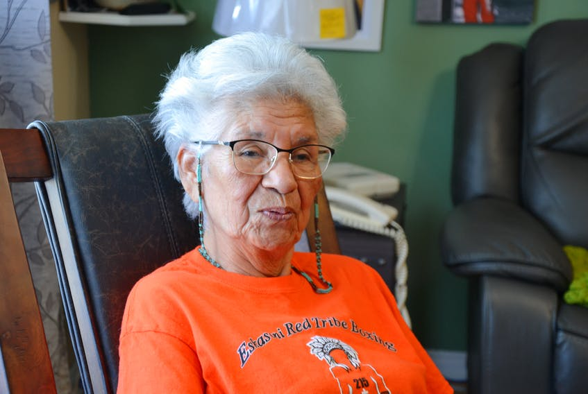 Georgina Doucette, a 79-year-old survivor of Shubenacadie Residential School in Nova Scotia, said she's glad to see a national holiday to honour the experiences of survivors like her. ARDELLE REYNOLDS/SALTWIRE NETWORK