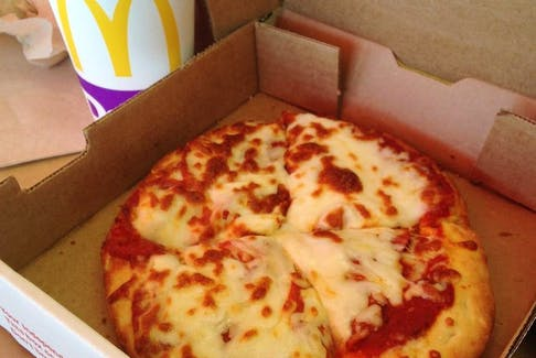 McDonald's Pizza.