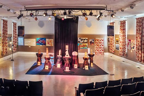 After being cancelled by COVID in 2020, 10 Days in Parrsboro is returning with a number of arts events meant to celebrate the vibrant arts community in Parrsboro. Shown is an exhibit at The Hall in 2018. Lawrence Nicoll photo