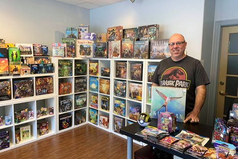 Brian Vienneau is the owner of WiredVillage Games in Pictou.