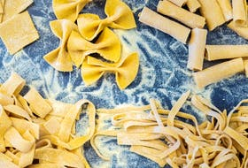 Hearty pasta makes the basis of rich autumn-inspired dishes.