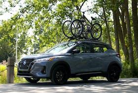 The 2021 Nissan Kicks was designed to appeal to active upwards urban Millennials. Clayton Seams/Postmedia News