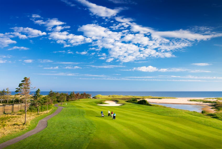 With views like this and more than 400+ fairways across Prince Edward Island, it's evident why the province has become a golfing destination. - Photo Contributed.