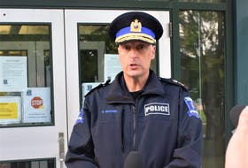 Truro Police Service Chief Dave MacNeil met with media Tuesday (Sept. 7) morning outside the department's building to speak to the homicide case which took place early Sunday morning, claiming the life of Truro resident Prabhjot Singh.