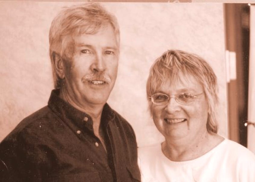 David and his wife Paulette Whitman are both writers that aim to preserve local Nova Scotian history. - Contributed