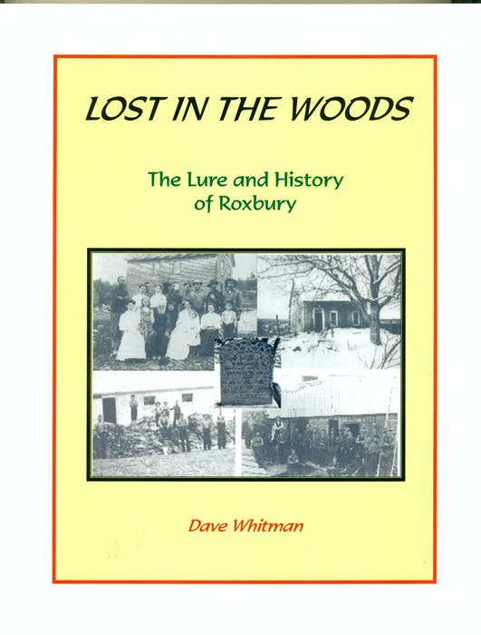 Lost in The Woods: The Lure and History of Roxbury, by David Whitman, published in 2005. - Contributed