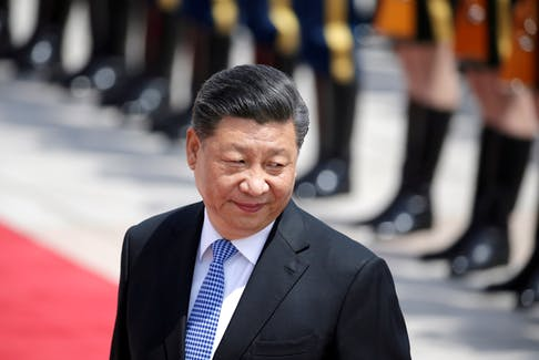 """Chinese President Xi Jinping is talking up a new policy of """"common prosperity"""" while also imposing stricter censorship and other social controls. - REUTERS/Jason Lee"""