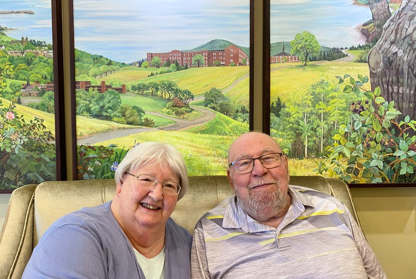 """Parkland Antigonish residents Bernard Liengme and Pauline Liengme say their life in the community is worry-free. """"There is a tremendous sense of peace and contentment here."""" - Photo Contributed."""