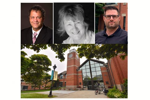 Three candidates are running in a Sept. 18 Town of Yarmouth special election to fill a vacant council seat: Don Berry, Belle Hatfield and Tim Clayton.