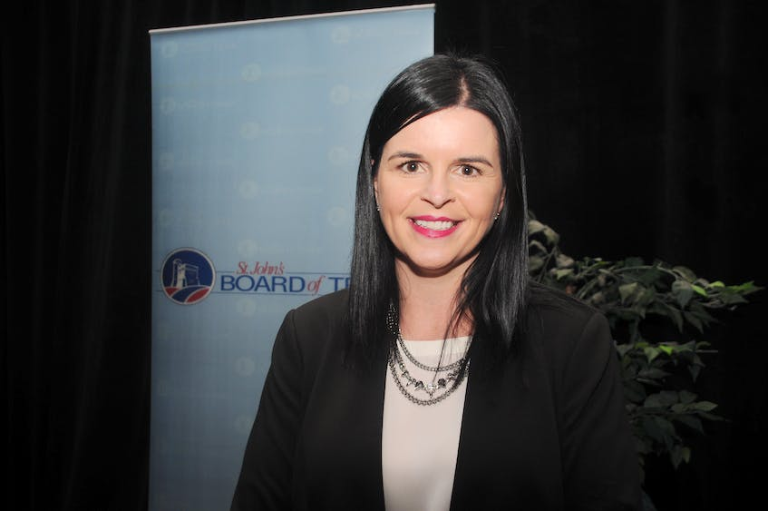 AnnMarie Boudreau, CEO of the St. John's Board of Trade.  - File Photo