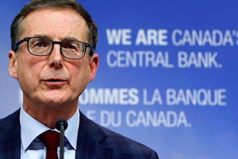 Bank of Canada governor Tiff Macklem.