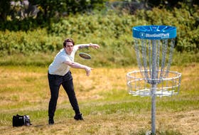 The sport is quite simple - players throw a disc at a target - making it easy to set up courses.