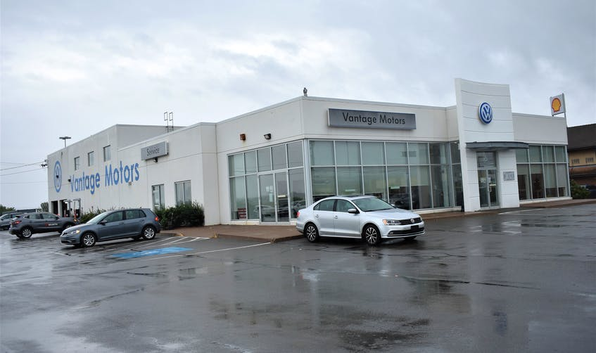 Vantage Motors at 16 Meadow Drive in Truro was under new ownership as of Sept. 1 - the Steele Auto Group which is based in Dartmouth. - Richard MacKenzie