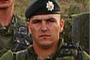 Cpl. Robbie Christopher Beerenfenger, killed in Afghanistan in October 2003.