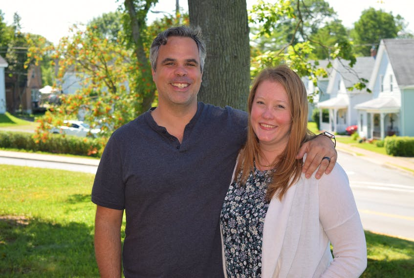 Lydia and Brad Sayeau have moved their business New Brooklyn Media to New Glasgow.
