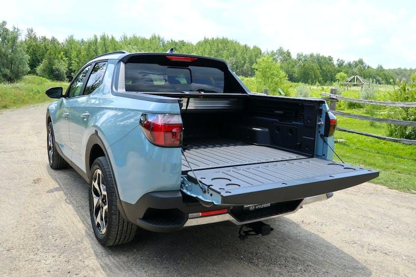 The 2022 Hyundai Santa Cruz is well-suited for light-duty truck use. Jil McIntosh/Postmedia News - POSTMEDIA