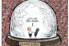Michael de Adder cartoon for Monday, March 15, 2021. Atlantic bubble, COVID-19