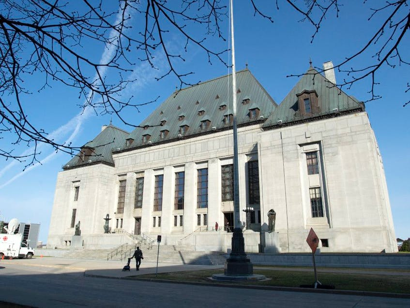 The Supreme Court of Canada in Ottawa. — Adrian Wyld/The Canadian Press/File