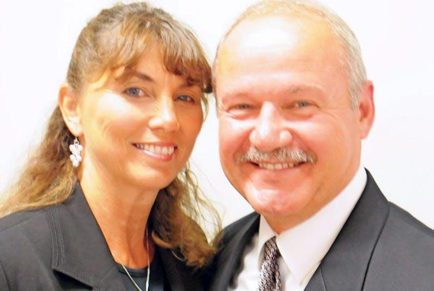 "<span class=""art-imagetext"">Cardigan Conservative candidate Julius Patkai with wife Jolee.</span>"