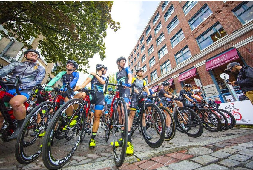 Women's race at 2019 Gastown Grand Prix,  More than 200 cyclists from 10 countries raced for the biggest criterium winning prize money in North America.