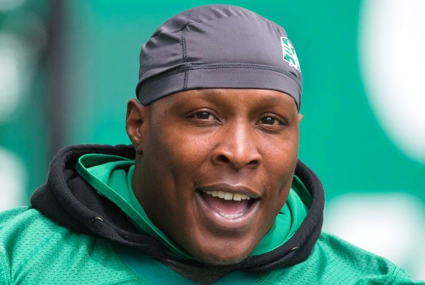 Defensive tackle Micah Johnson is contributing in other ways besides sacks in his first season with the Saskatchewan Roughriders.