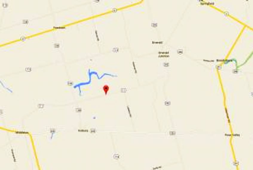 ['Screenshot of a Google map showing Newton Road']