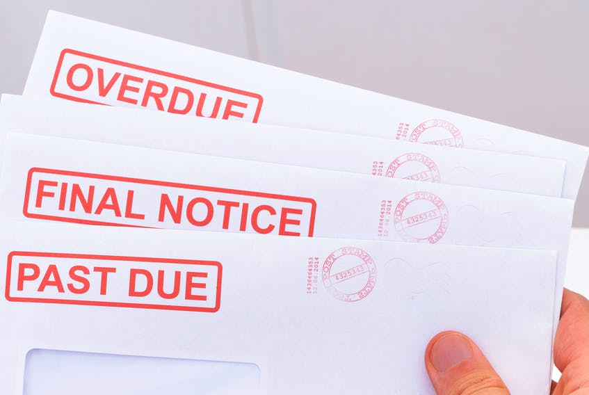 Newfoundland, New Brunswick and P.E.I. saw increases in the average household debt hover just below one per cent, while debt levels fell 0.29 per cent in Nova Scotia, according to Equifax.