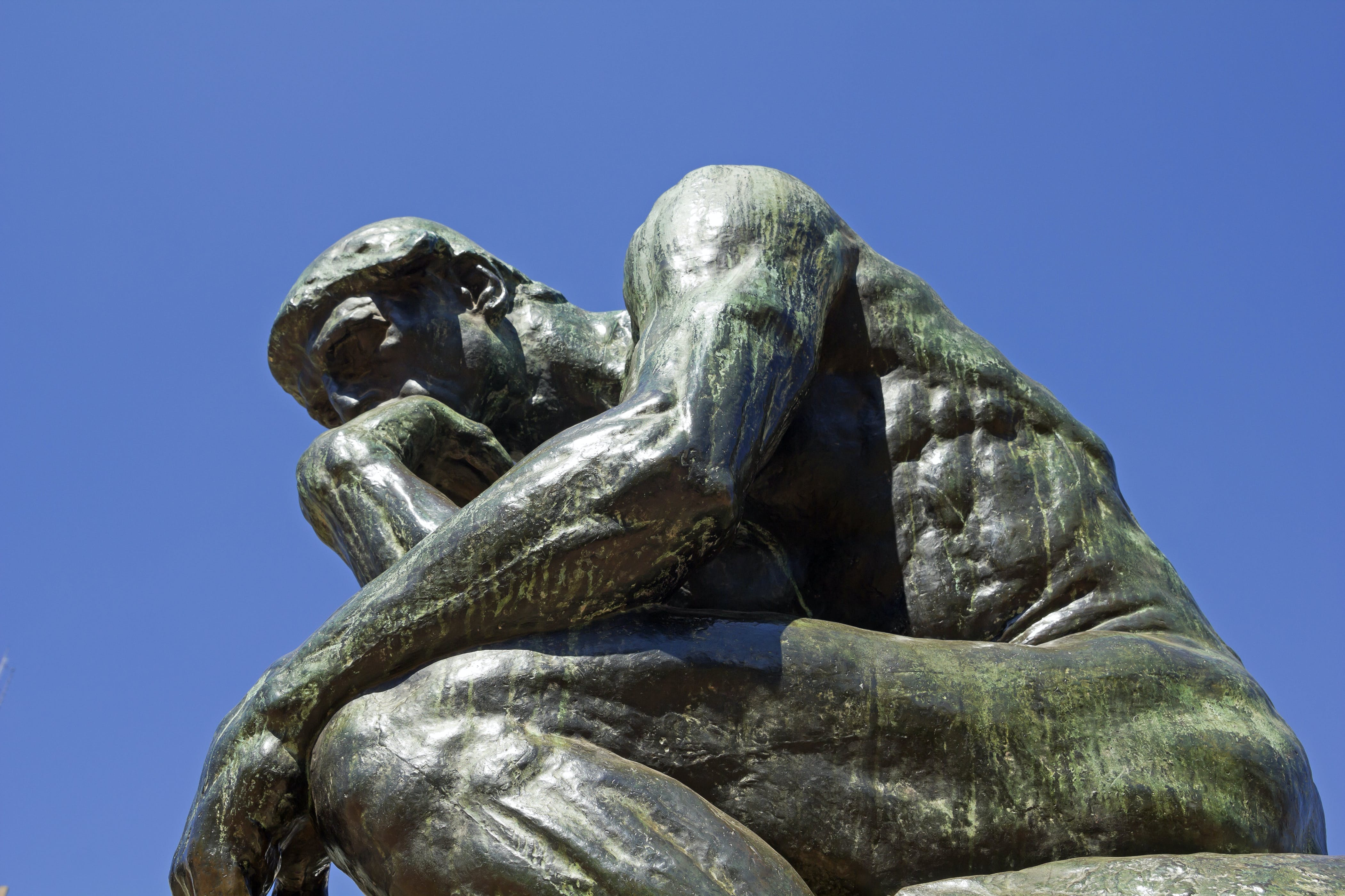 The Thinker by Rodin-second cast in the original cast and signed by Rodin himself in Buenos Aires, Argentina.