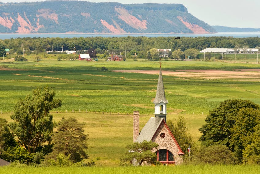 The rural landscape of Grand Pre, Nova Scotia. The work-from-home lifestyle brought on by the COVID-19 pandemic has columnist John Demont wondering whether it will reinvigorate rural living. - John McPhee / File