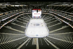 An empty Rogers Place.