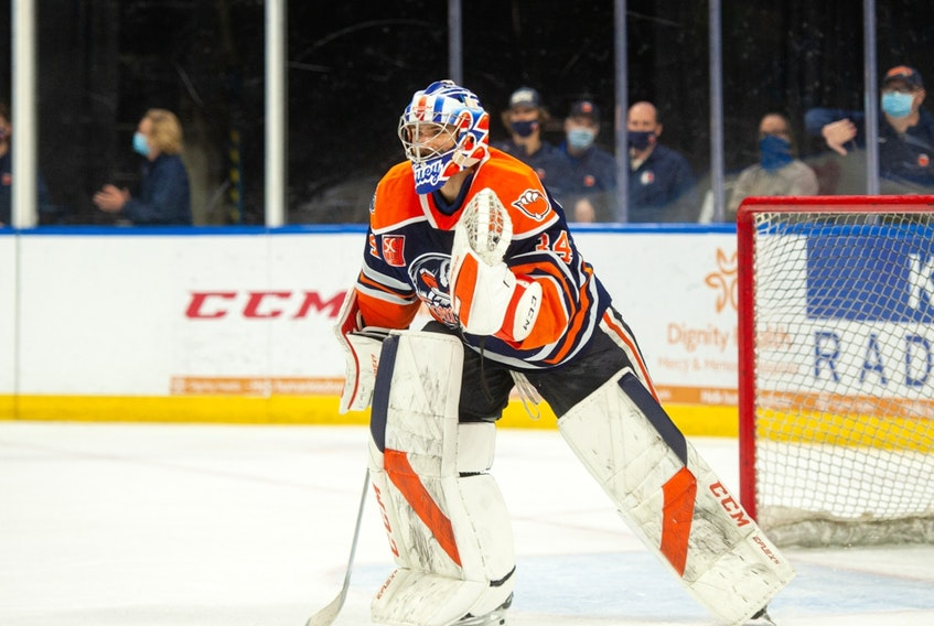The Bakersfield Condors are 9-0-1 in last 10 at home, and 11-1-1 overall in his last 13. He leads the league in wins and is second in minutes played.