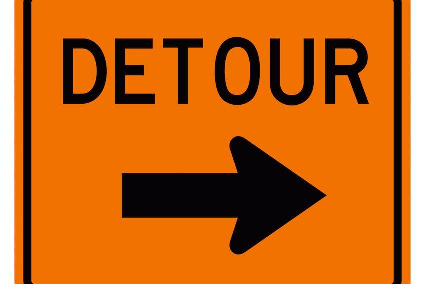 Detour.