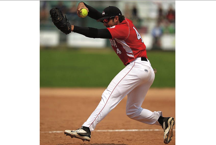 Sean Cleary — Softball Canada file photo