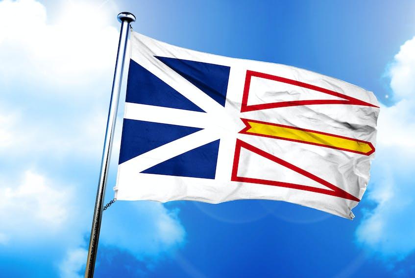 Newfoundland Flag - Stock