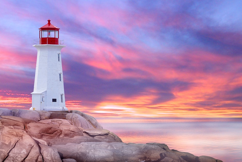 Peggy's Cove's well-known lighthouse is in the South Shore-St. Margaret's riding.