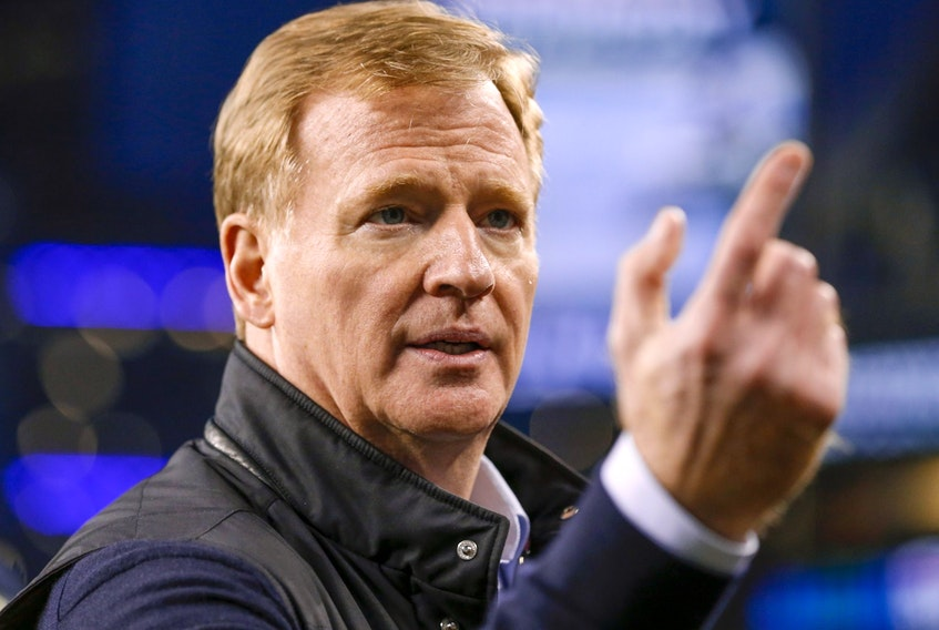Commissioner Roger Goodell is proud that no games were cancelled during the NFL season.