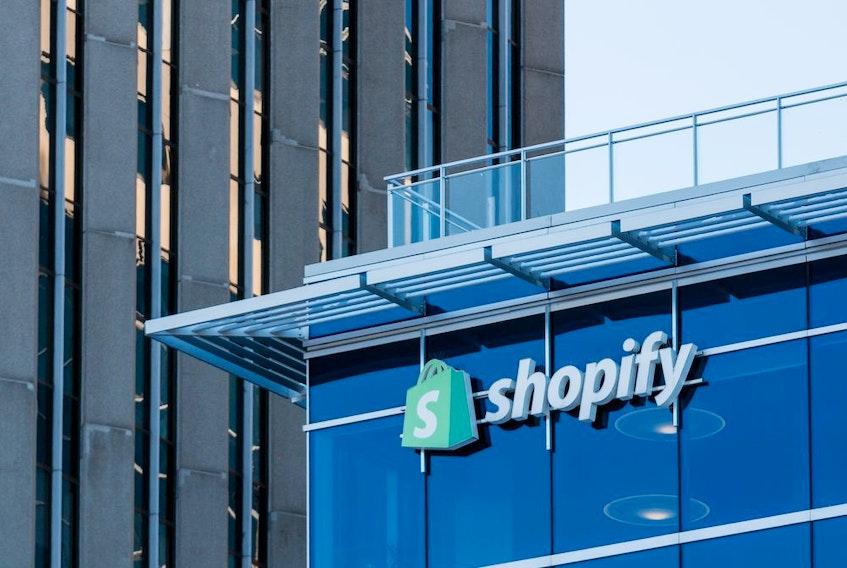 Shopify headquarters on Elgin Street in Ottawa.