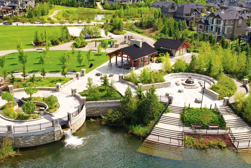Watermark, by Macdonald Communities, is a finalist in the 2020 CHBA National Awards for Housing Excellence for Community Development. Courtesy, Macdonald Communities