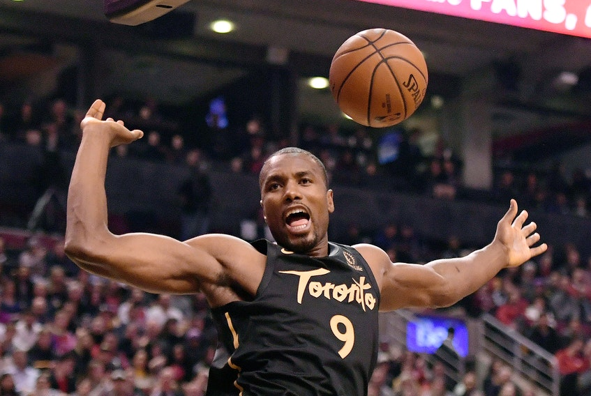 Serge Ibaka and the Raptors are now in Florida and will continue their individual workouts at a Alico Arena, home to the Florida Gulf Coast University Eagles.
