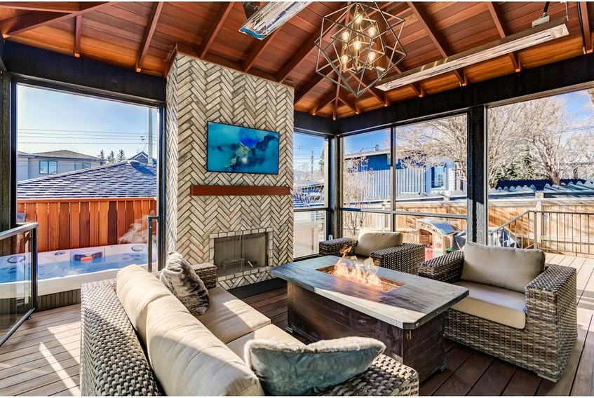 Inner City Outdoor Retreat by Ultimate Homes and Renovations is a finalist for the 2019 BILD CR Awards forBEST RENOVATOR'S CHOICE RENOVATION. Courtesy, Ultimate Homes and Renovations