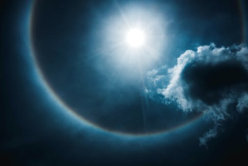 Cindy Day's Grandma said if you could count stars within a lunar halo, you could predict the weather. -kdshutterman